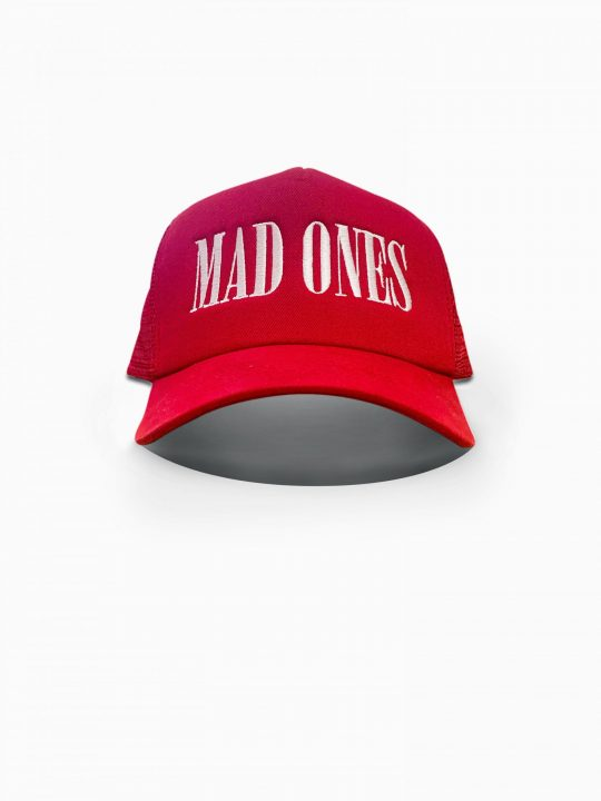 Mad Ones Trucker Hat Red